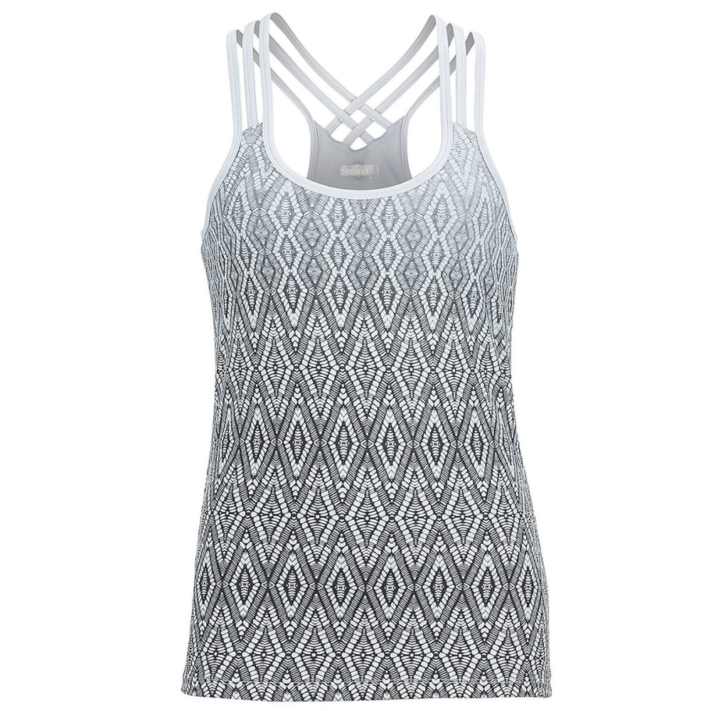 MARMOT Women's Vogue Tank - 8862-BLACK WEAVE