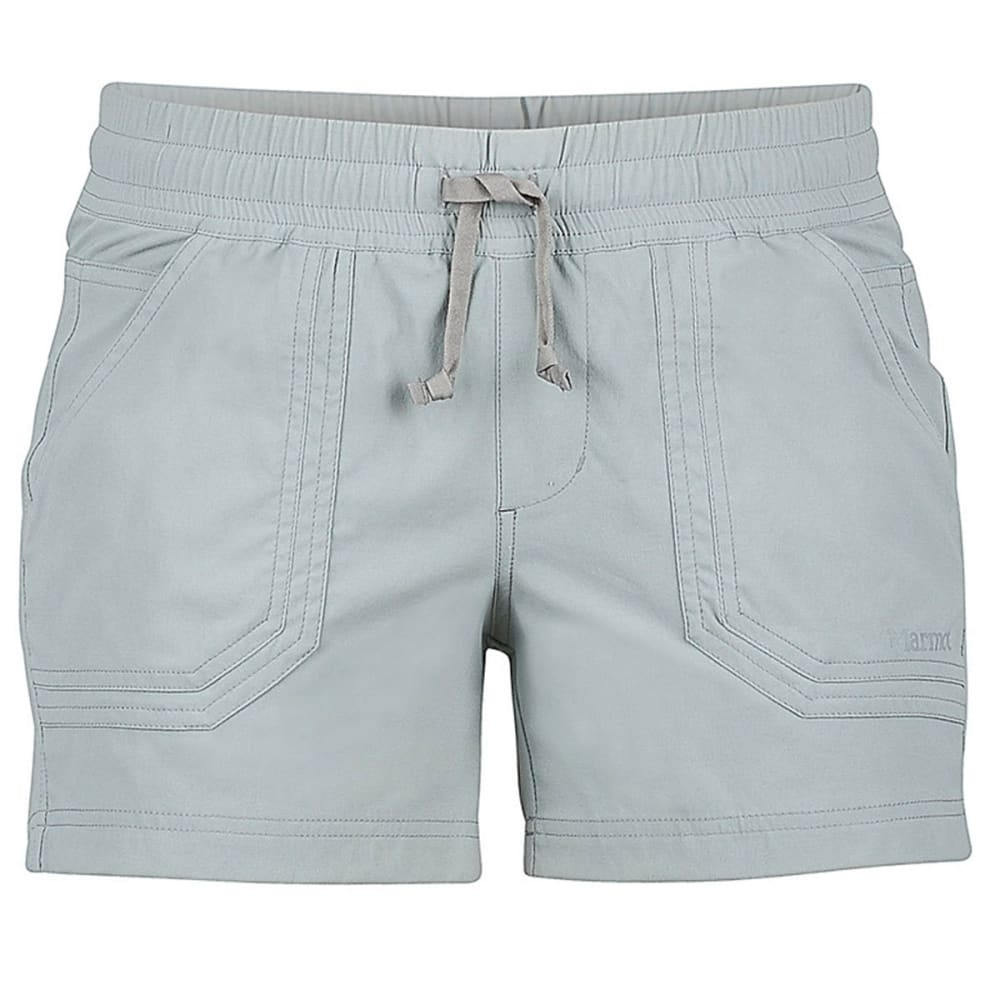 MARMOT Women's Harper Shorts - 1620-GREY STORM