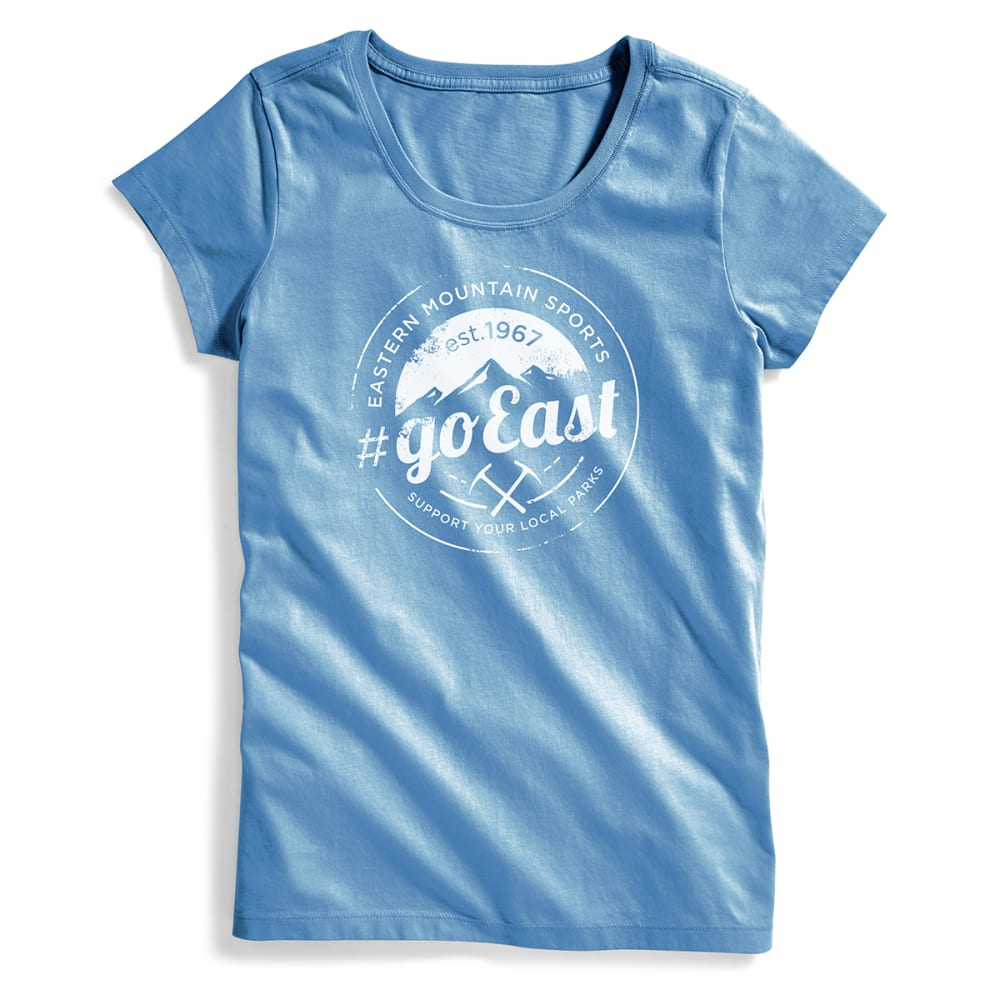 EMS® Women's Techwick® #goEast Vital Graphic Tee - CORONET BLUE