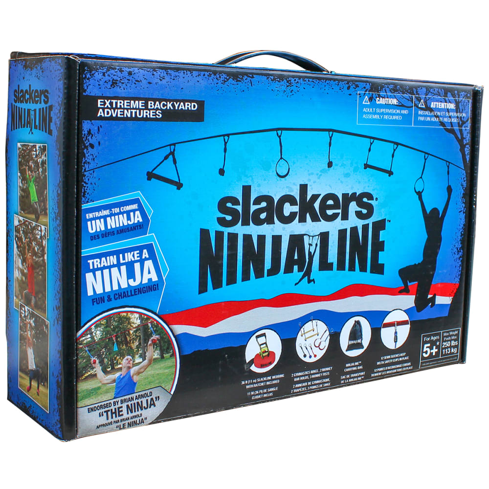 SLACKERS 36 ft. Ninjaline Intro Kit - NO COLOR