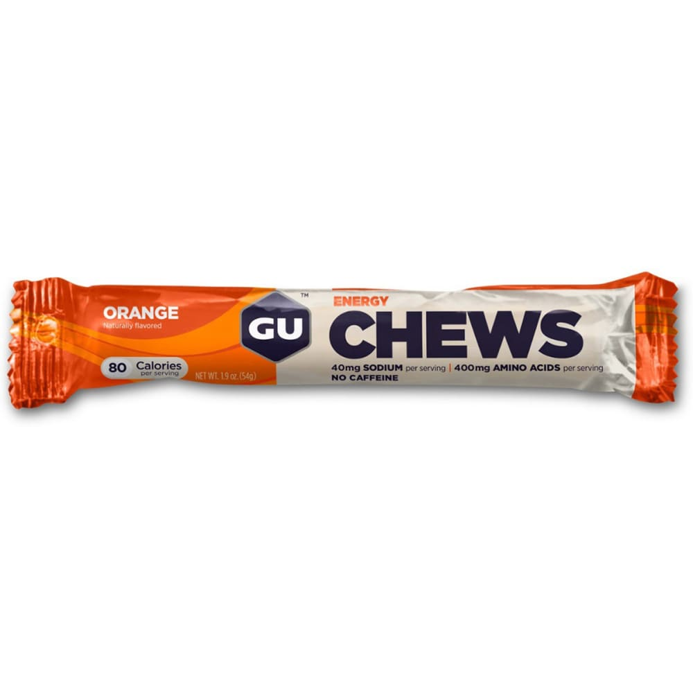 GU Energy Chews, Orange - ORANGE