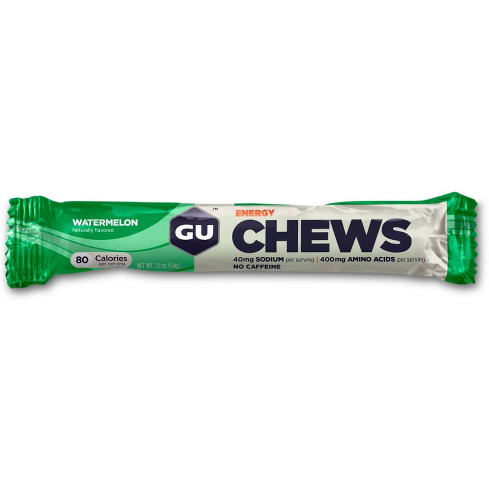 GU Energy Chews, Watermelon - WATERMELON