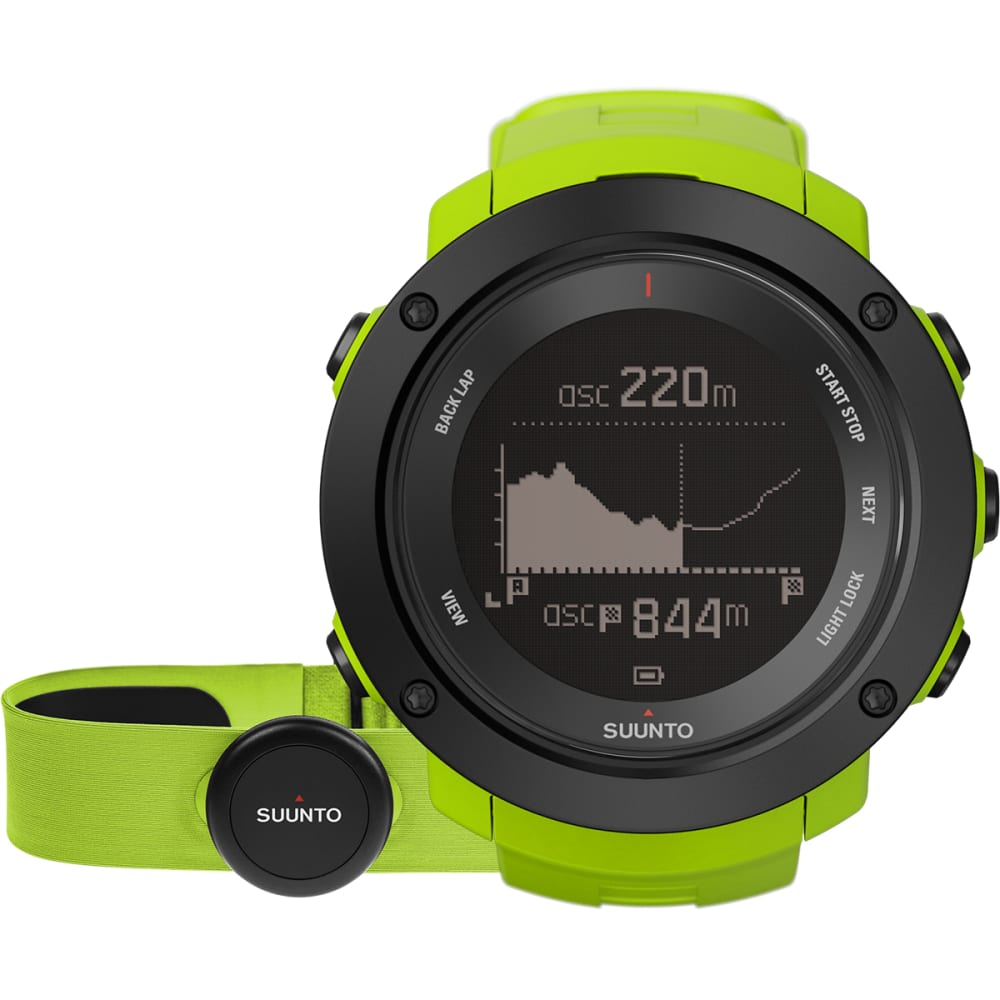 SUUNTO Ambit3 GPS Watch with Heart Rate Monitor - LIME