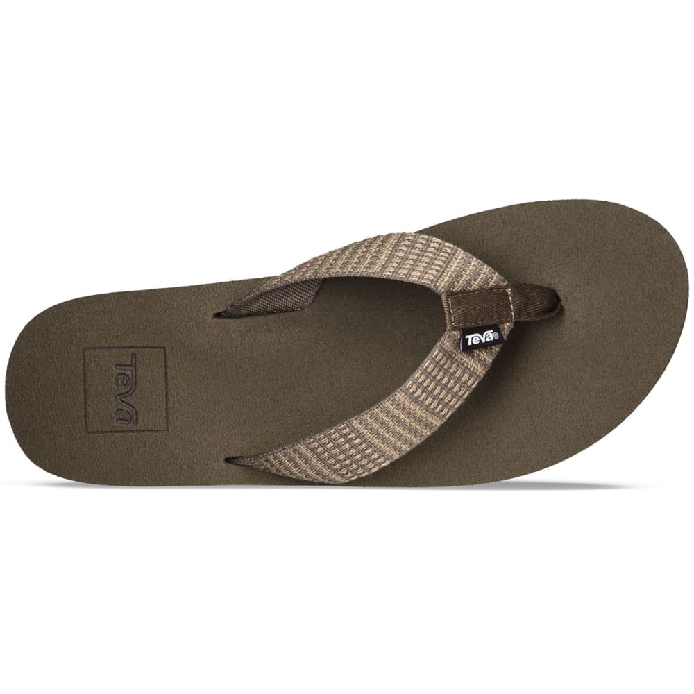 TEVA Men's Mush II Sandals, Paz Chocolate - PAZ CHOCOLATE