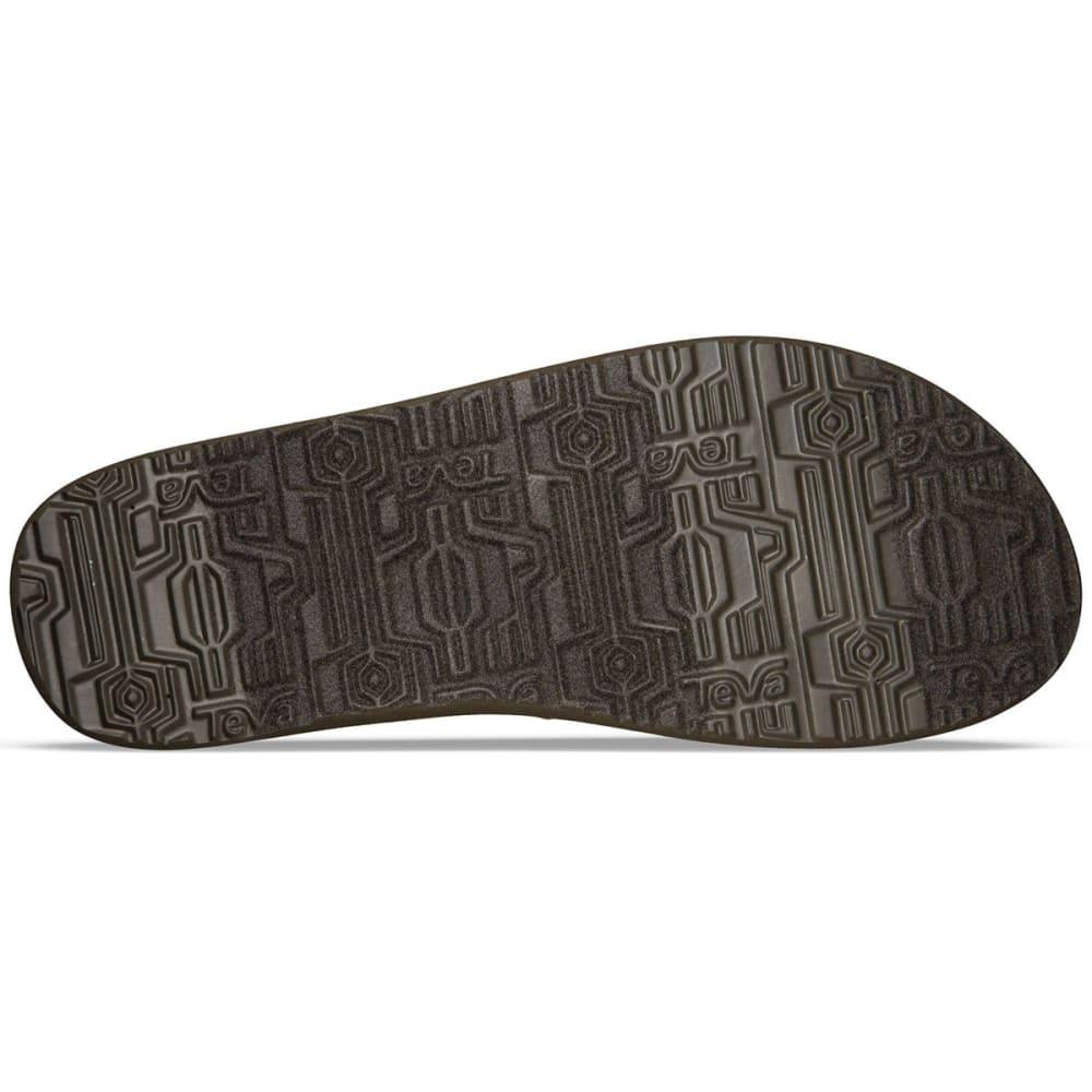 TEVA Men's Mush II Sandals, Paz Chocolate - PAZ CHOCOLATE