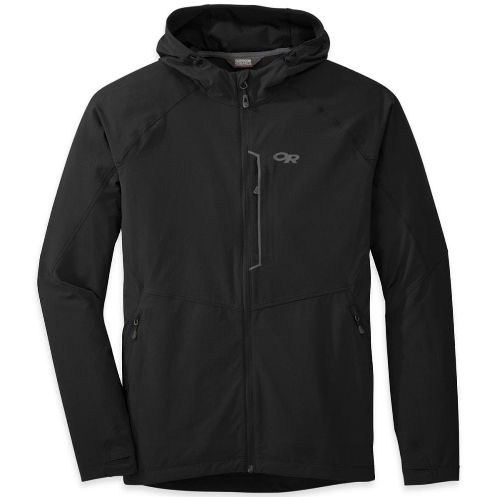 OUTDOOR RESEARCH Men's Ferrosi Hooded Jacket - BLACK