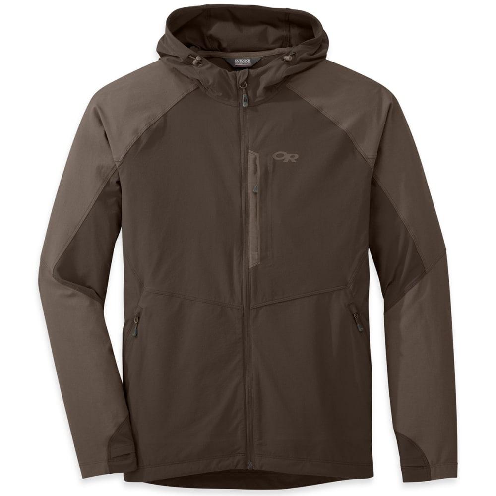 OUTDOOR RESEARCH Men's Ferrosi Hooded Jacket - MUSHROOM/WALNUT