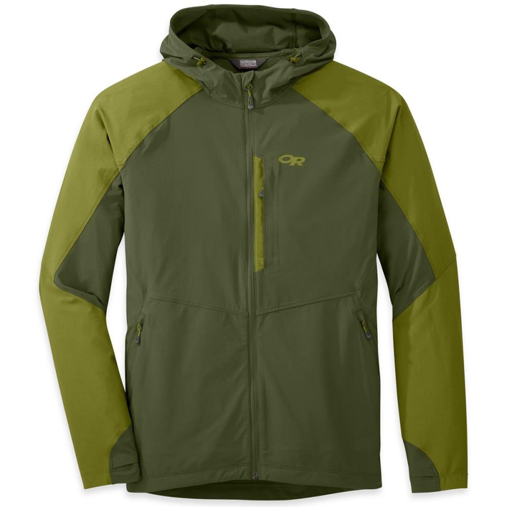 OUTDOOR RESEARCH Men's Ferrosi Hooded Jacket - KALE/HOPS