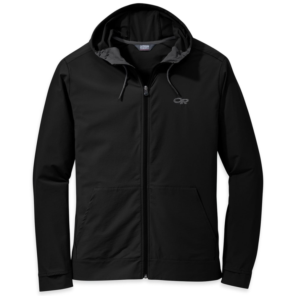 OUTDOOR RESEARCH Men's Ferrosi Metro Hoodie - 0001-BLACK