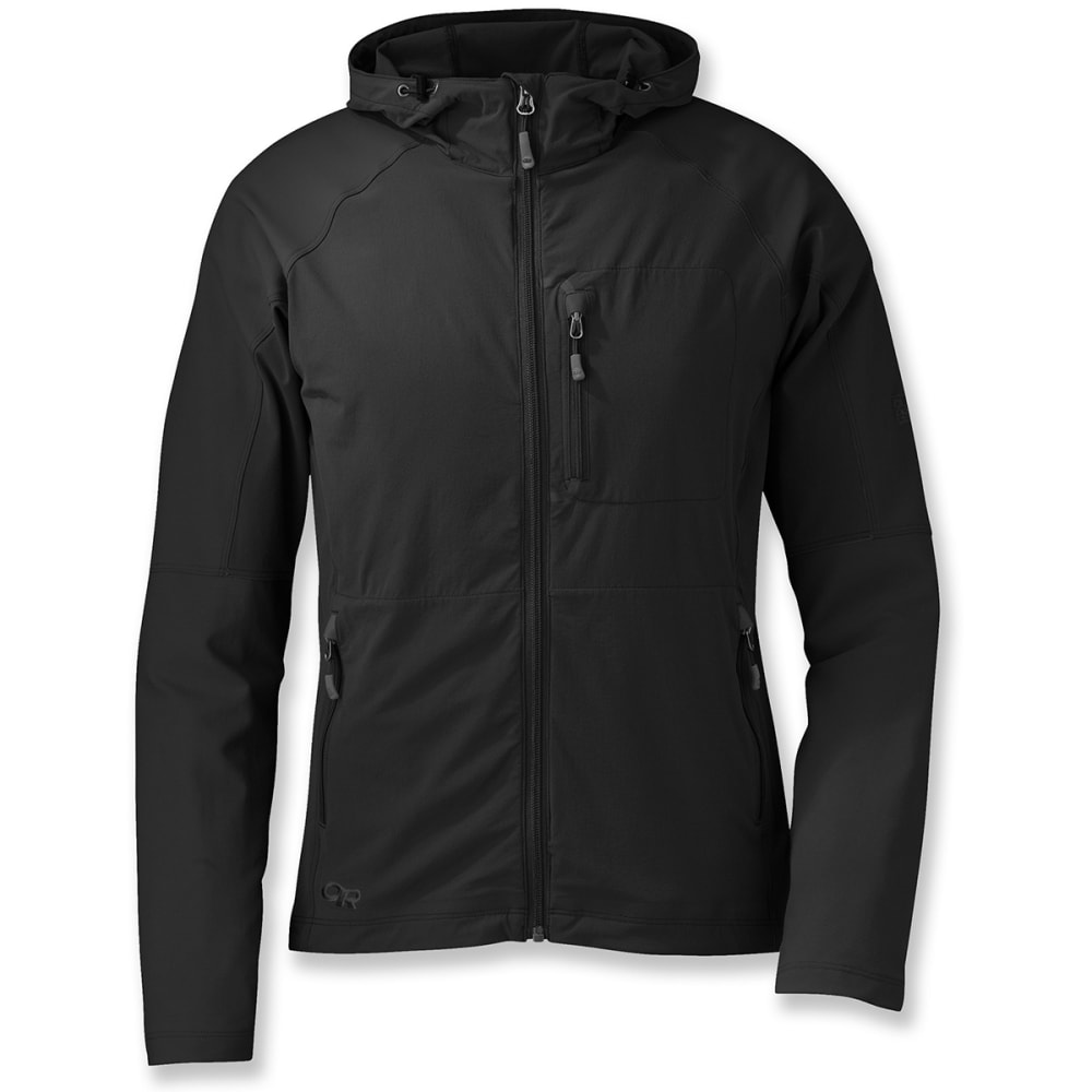 OUTDOOR RESEARCH Women's Ferrosi Hooded Jacket - 0001-BLACK
