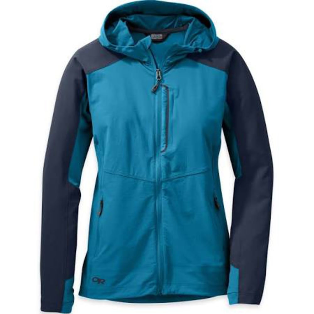 OUTDOOR RESEARCH Women's Ferrosi Hooded Jacket - 1119-OASIS/NIGHT