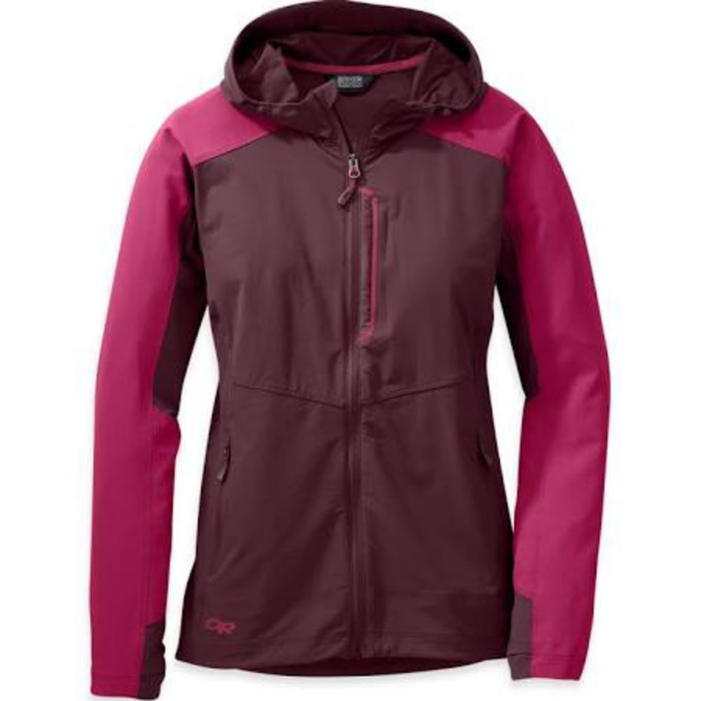 OUTDOOR RESEARCH Women's Ferrosi Hooded Jacket - 1120-PINOT/SANGRIA