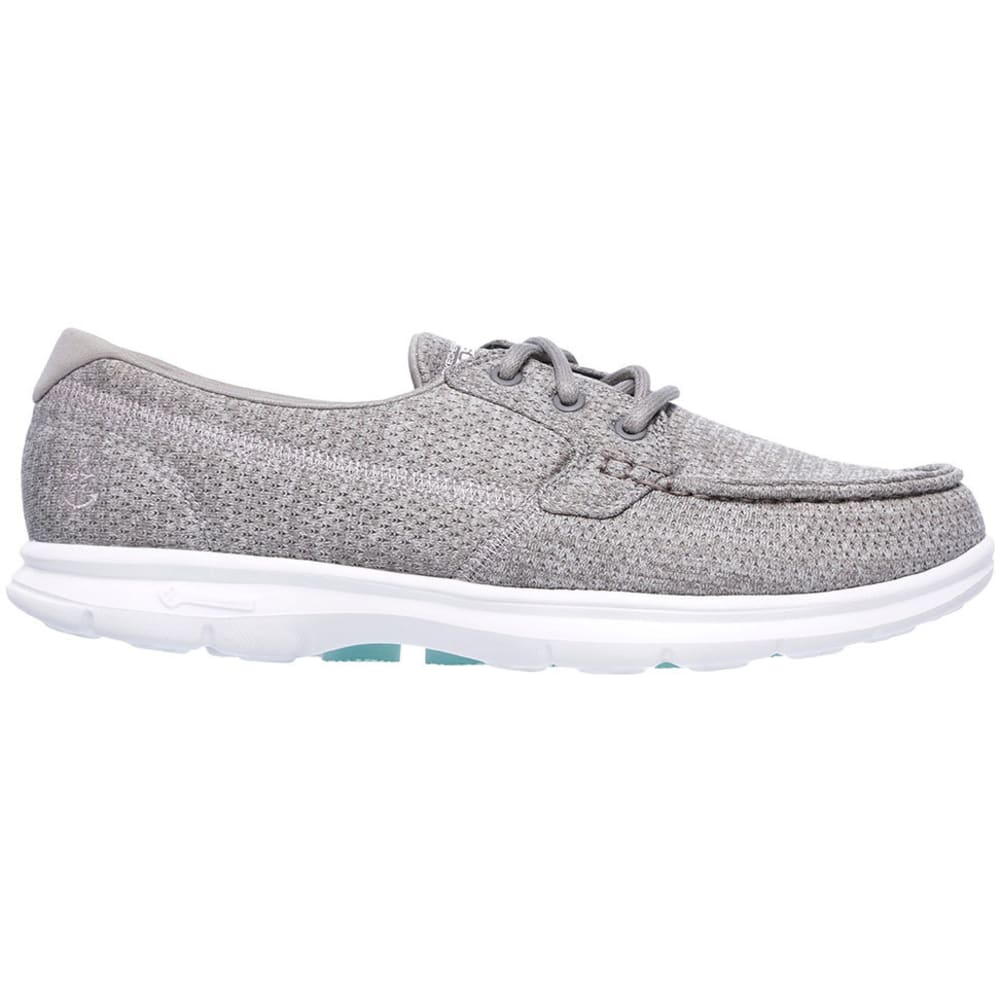 SKECHERS Women's GO STEP Excape Boat Shoes - GREY