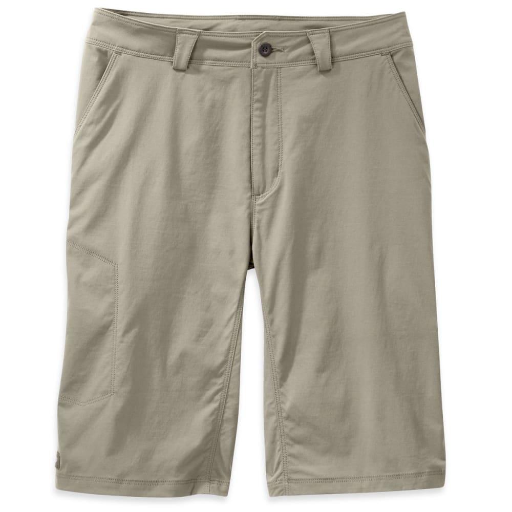 OUTDOOR RESEARCH Men's Equinox Metro Shorts, 12 In. - 0844-CAIRN
