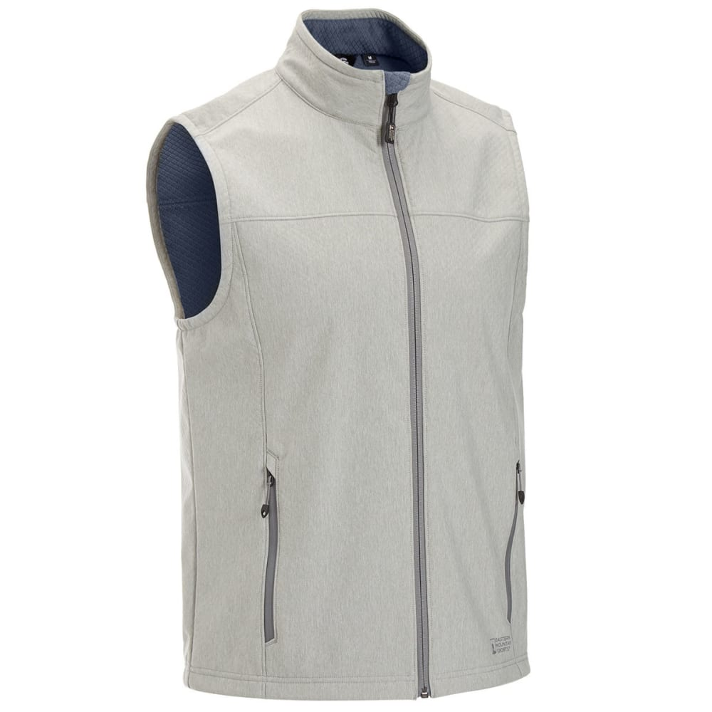 EMS® Men's Rampart Soft-Shell Vest - GREY HEATHER