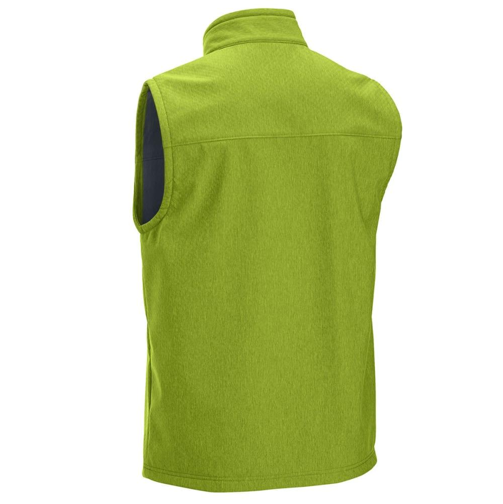 EMS® Men's Rampart Soft-Shell Vest - CHARTREUSE HTR