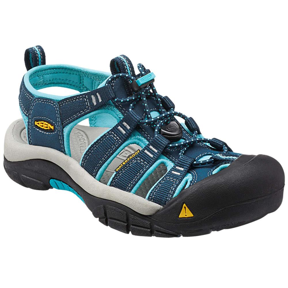 Keen Women's Newport H2-W Sandals, Poseidon/capri - Blue
