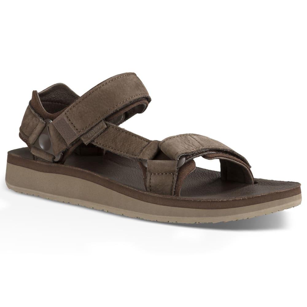 Teva Men's Original Universal Premier Leather Sandals, Brown - Brown