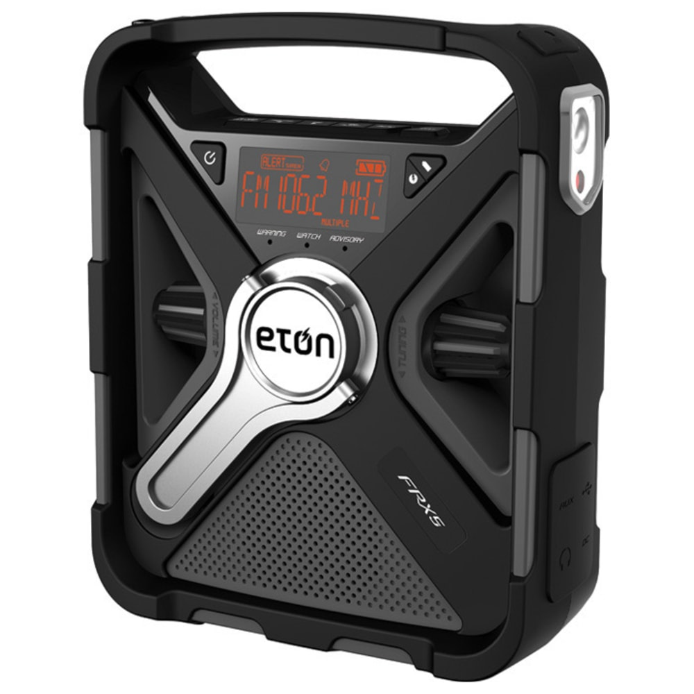 ETON FRX5 Weather Radio - BLACK