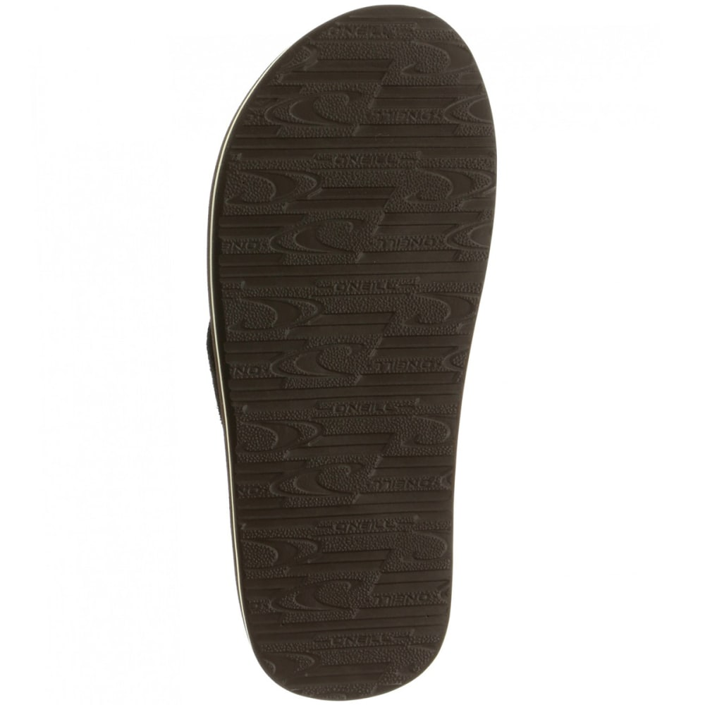 O'NEILL Men's Phluff Daddy Sandals - BROWN