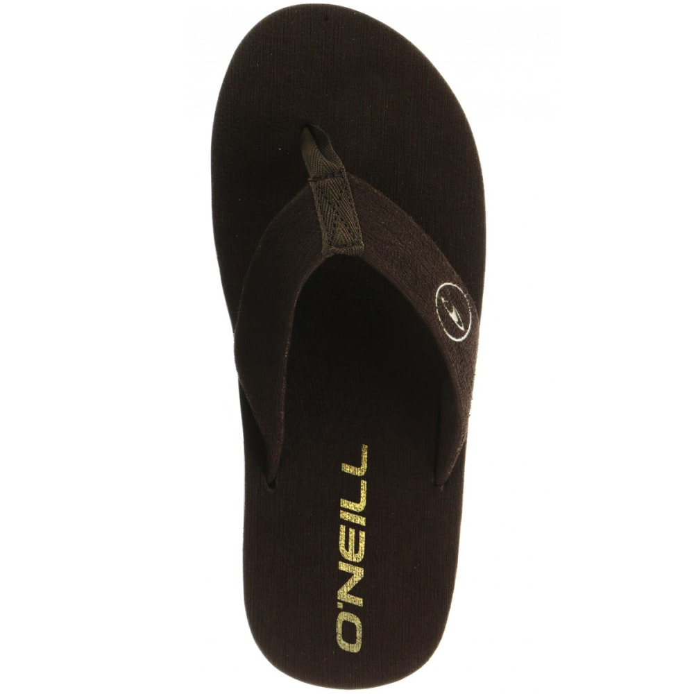 O'NEILL Men's Phluff Daddy Sandals - BROWN