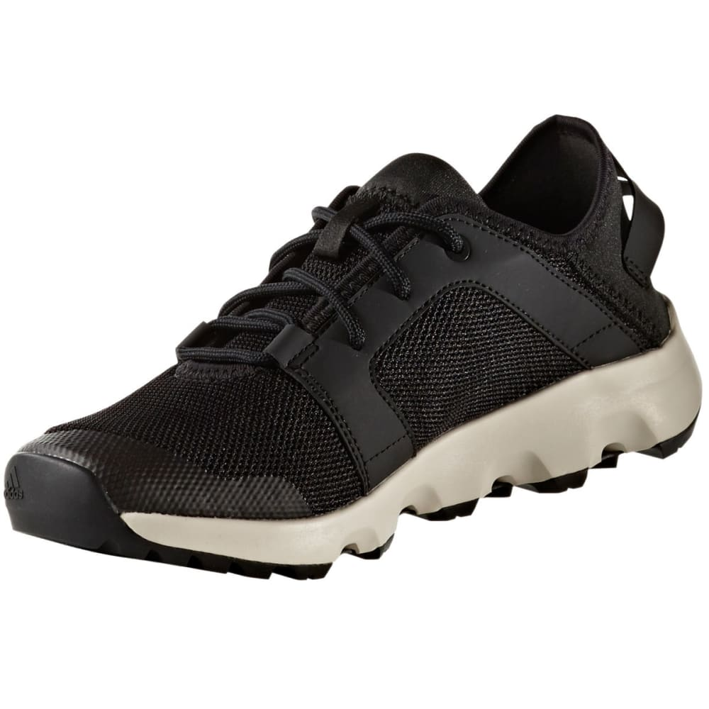 ADIDAS Women's Terrex Climacool Voyager Sleek Outdoor Shoes, Core Black/Chalk White - BLACK