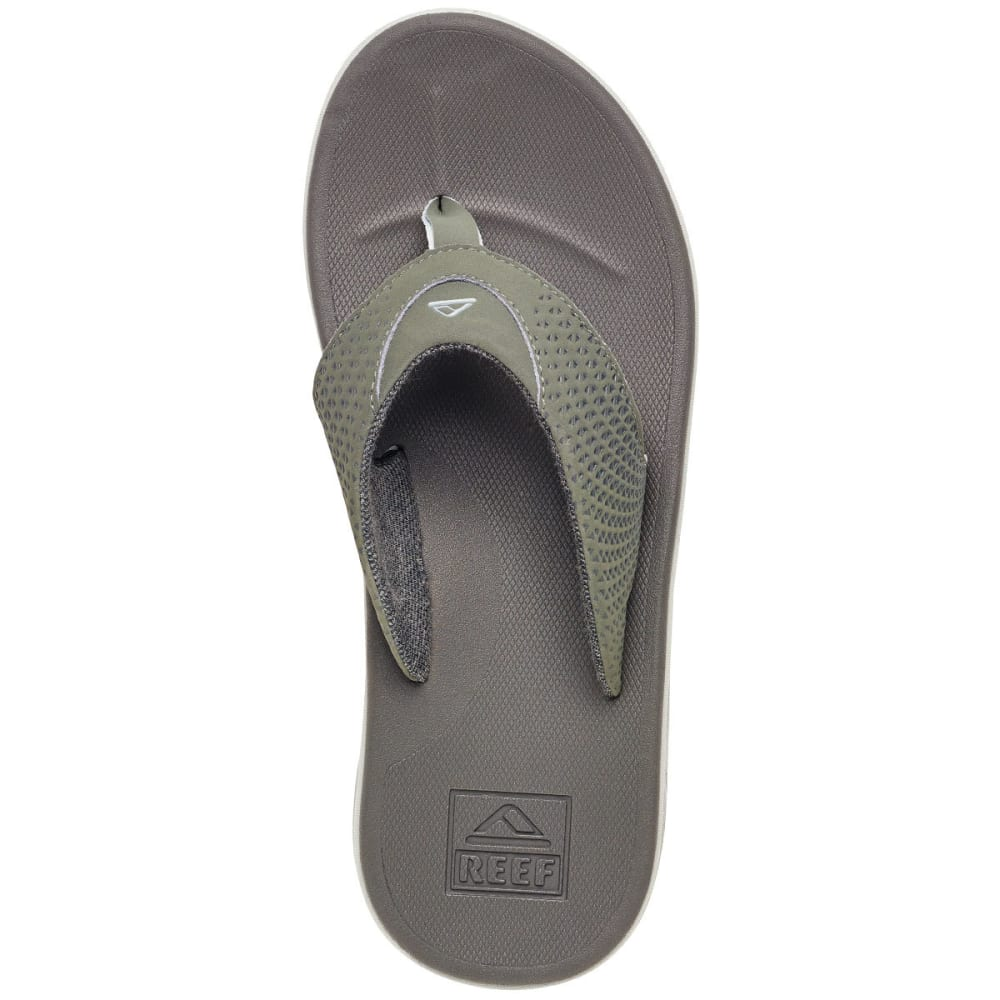 REEF Men's Rover Sandals, Grey - GREY