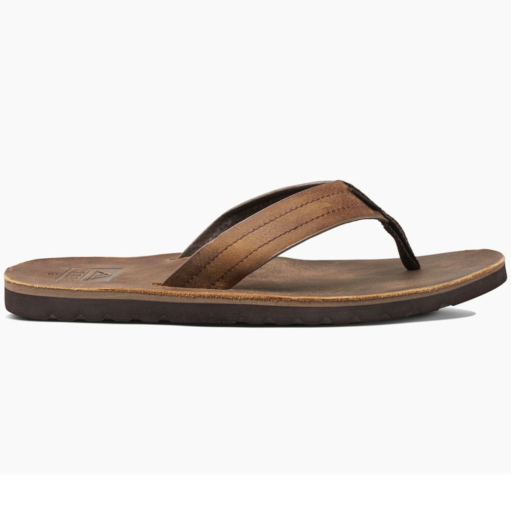 REEF Men's Voyage LE Sandals, Dark Brown - DARK BROWN