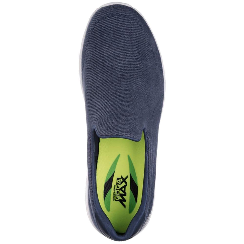 SKECHERS Men's GOwalk 4 – Magnificent Slip-On Casual Shoes, Navy - NAVY