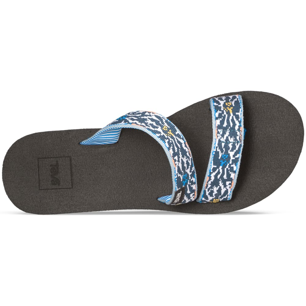 TEVA Women's Mush Mandalyn Wedge Loma Sandals, Lucia Blue - BLUE