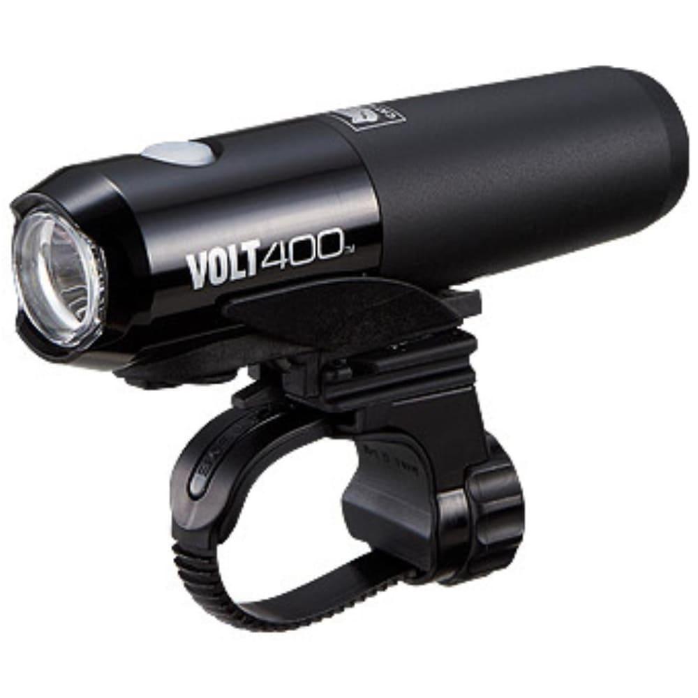 CATEYE Volt 400 Rechargeable Bike Light with Helmet Mount - BLACK