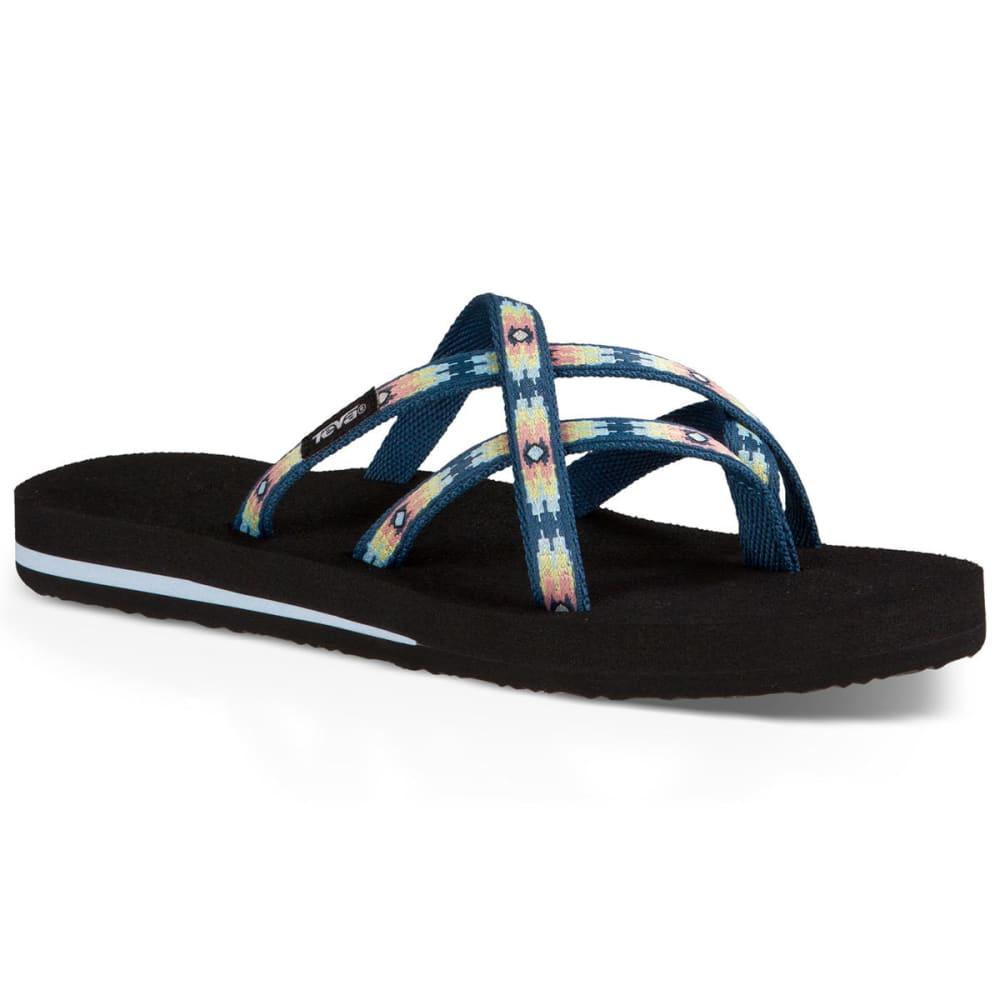 TEVA Women's Olowahu Sandals, Pana Stellar - STELLAR