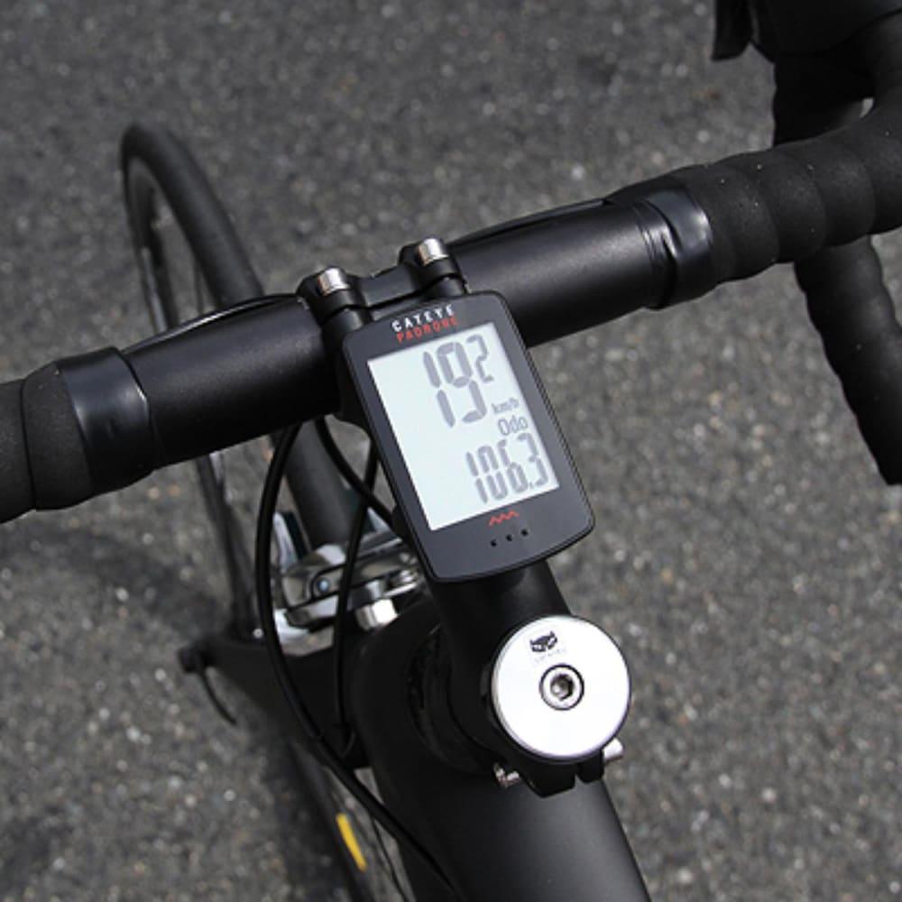 CATEYE Padrone Cycling Computer - BLACK