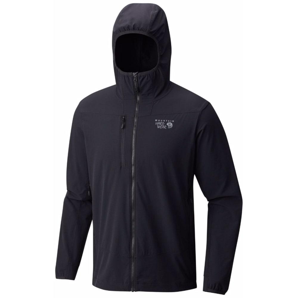 MOUNTAIN HARDWEAR Men's Super Chockstone Hooded Jacket - 010-BLACK