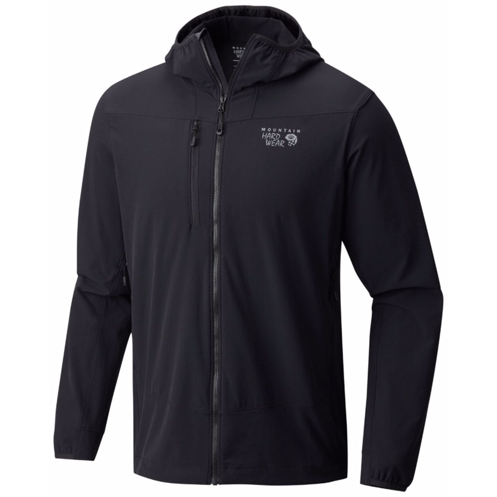 MOUNTAIN HARDWEAR Men's Super Chockstone Hooded Jacket - 010-BLACK