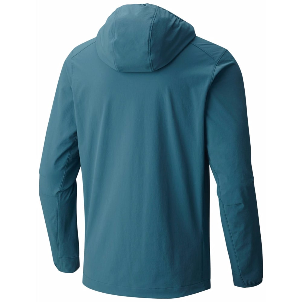 MOUNTAIN HARDWEAR Men's Super Chockstone Hooded Jacket - 336-CLOUDBURST