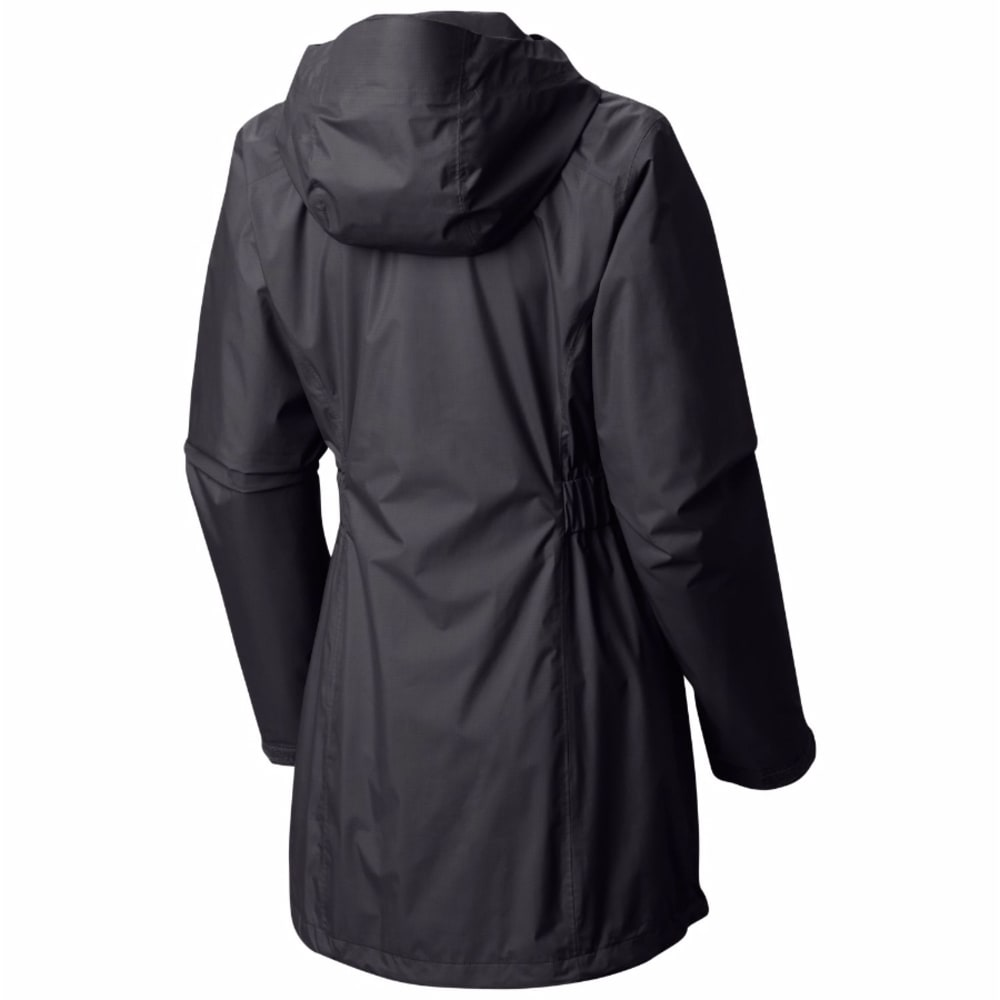 MOUNTAIN HARDWEAR Women's Finder Parka - 095-BLACK/GRAPHITE
