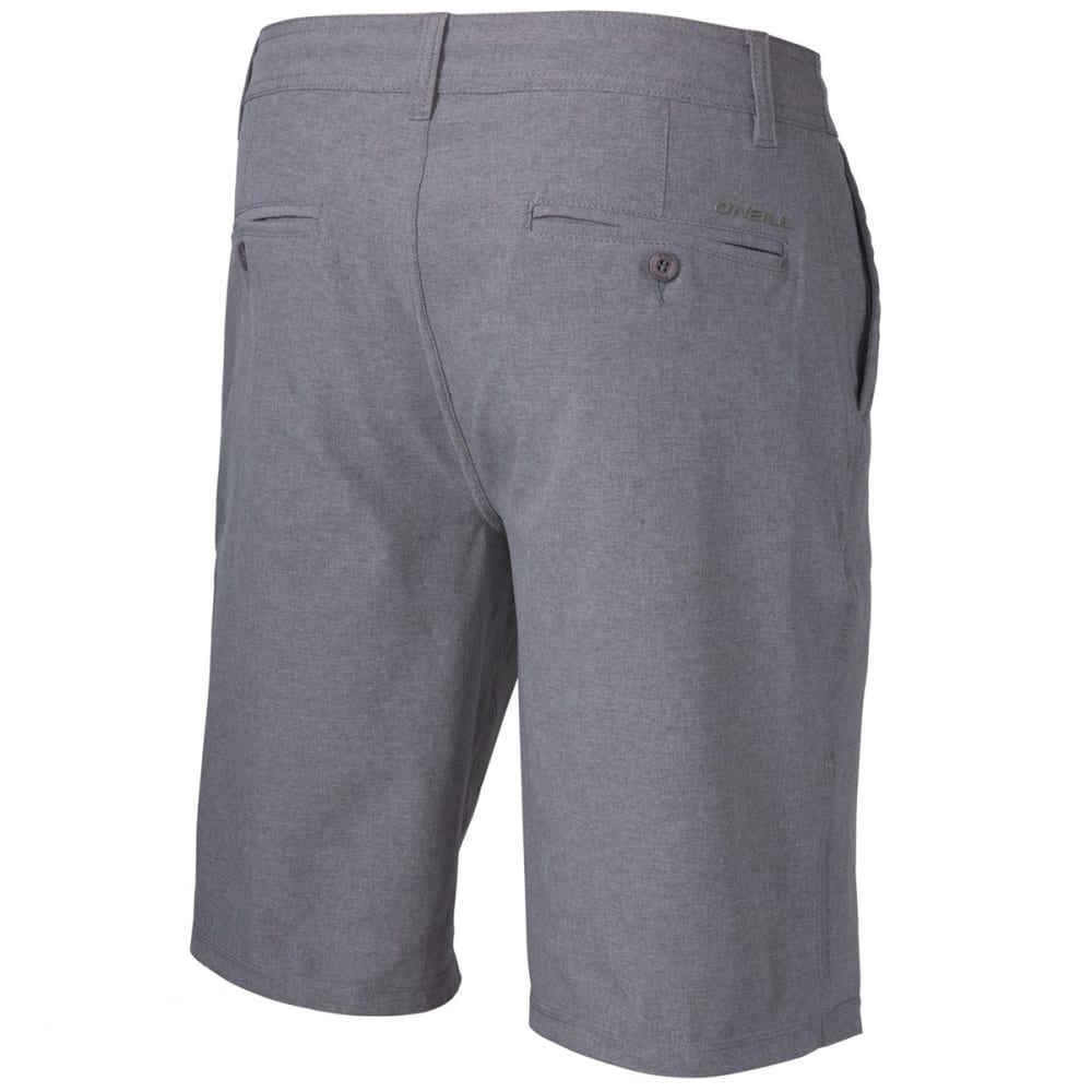 O'NEILL Men's Loaded Heather Hybrid Shorts - HTR GREY-HTR