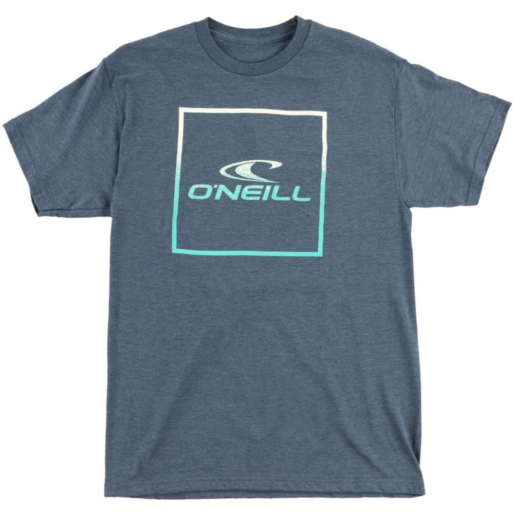 O'NEILL Guys' Boxed Graphic Tee - NVY-NAVY HEATHER