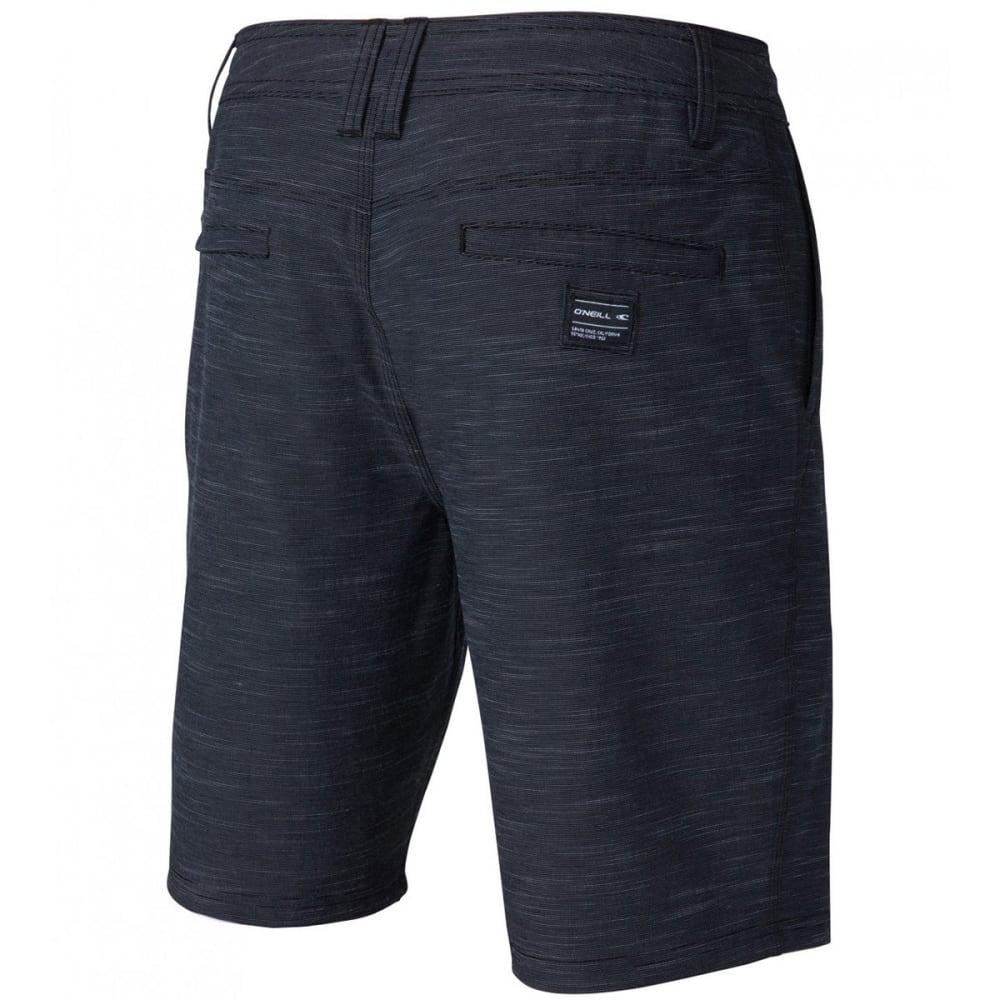 O'NEILL Guys' Locked Slub Hybrid Shorts - NVY-NAVY