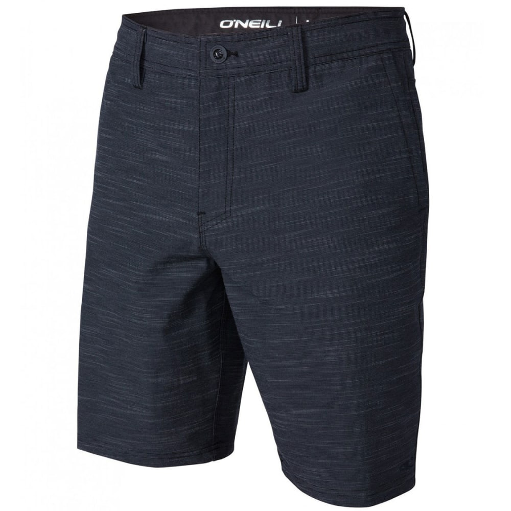 O'NEILL Guys' Locked Slub Hybrid Shorts - NVY-NAVY