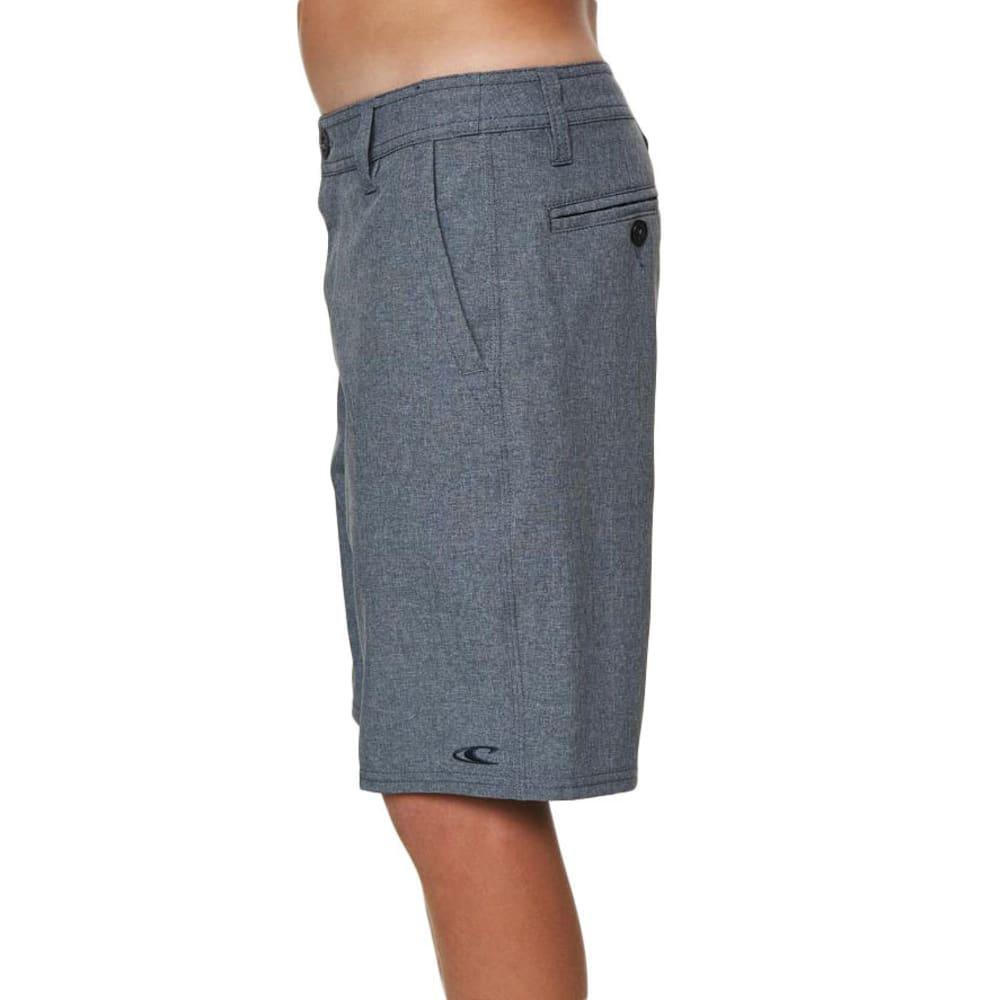 O'NEILL Boys' Loaded Heather Hybrid Shorts - NAVY HTR-NVH