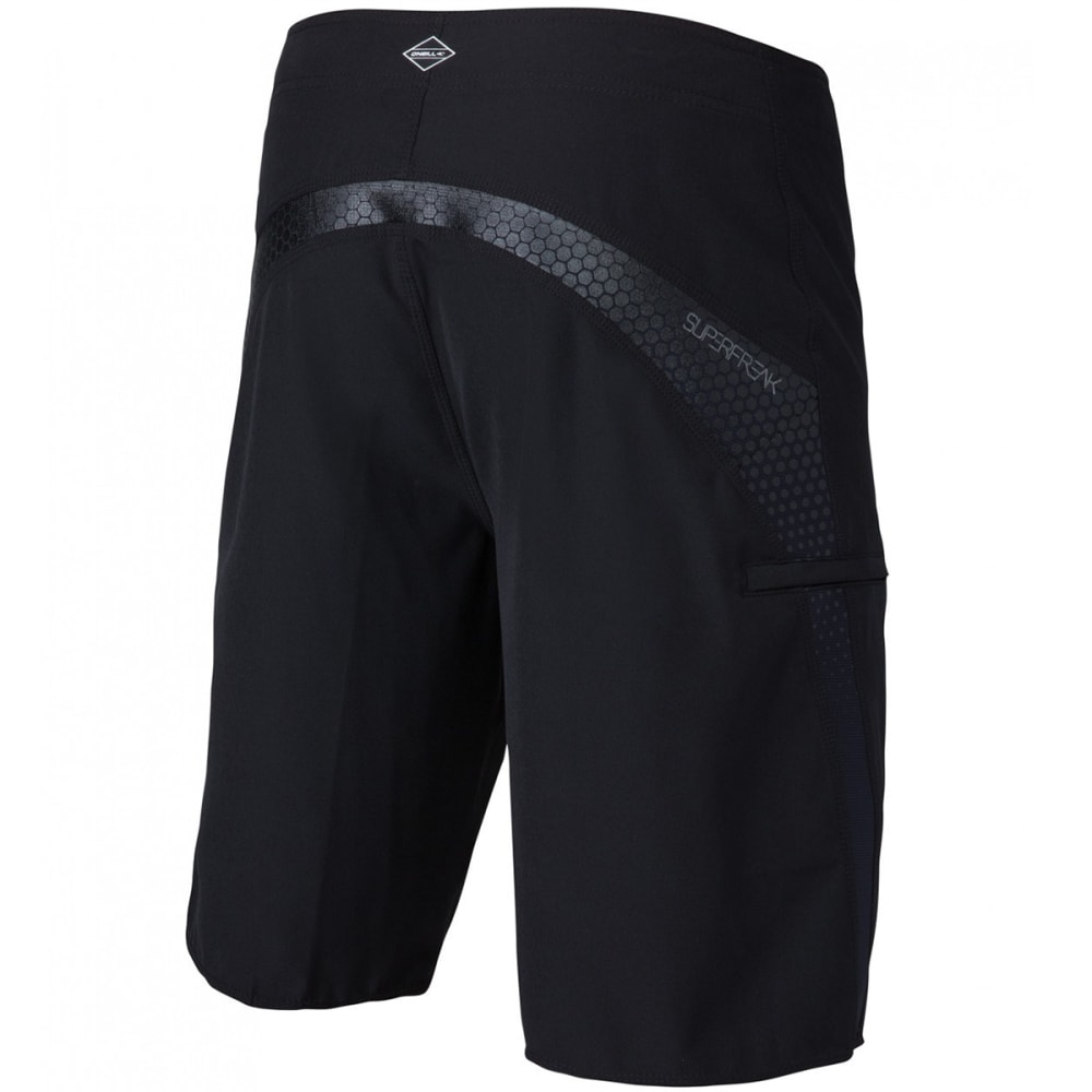 O'NEILL Men's Superfreak Boardshorts - BLK-BLACK
