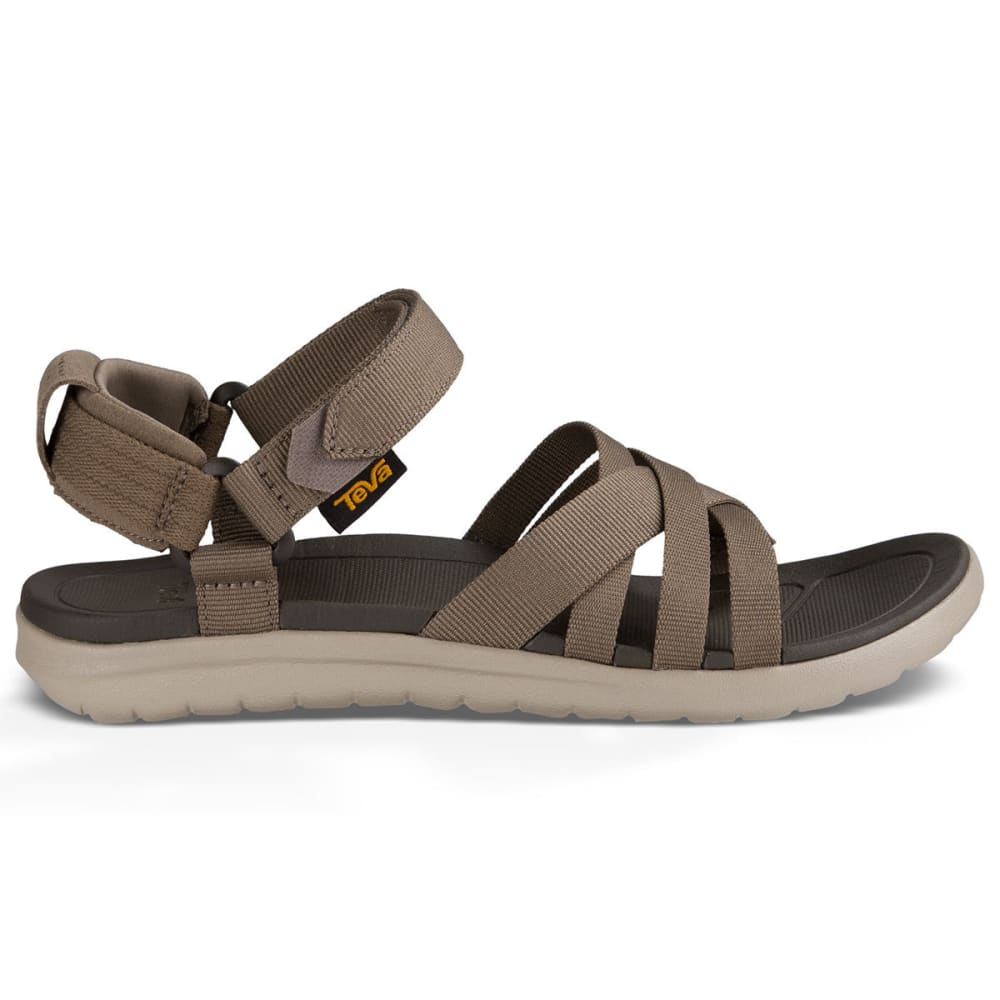 TEVA Women's Sanborn Sandals, Walnut - BROWN