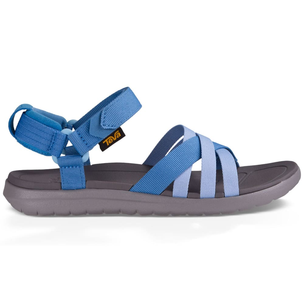 TEVA Women's Sanborn Sandals, Blue - BLUE