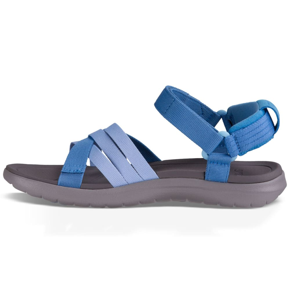 TEVA Women's Sanborn Sandals, Blue - BLUE