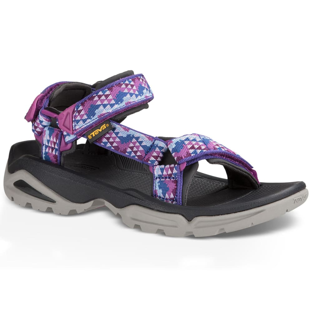 TEVA Women's Terra Fi 4 Sandals, Palopo Purple - PURPLE