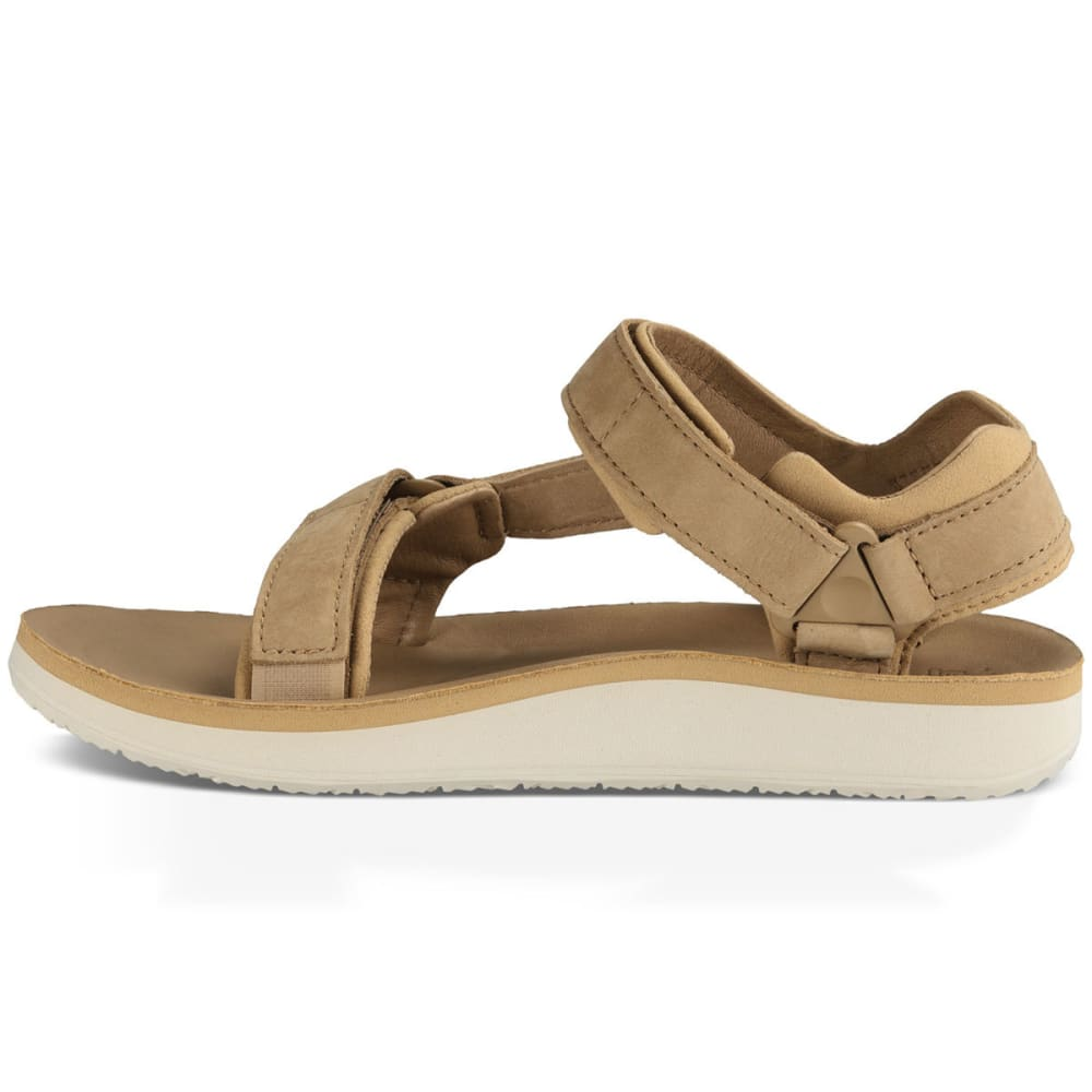 TEVA Women's Original Universal Premier Leather Sandals, Tan - TAN