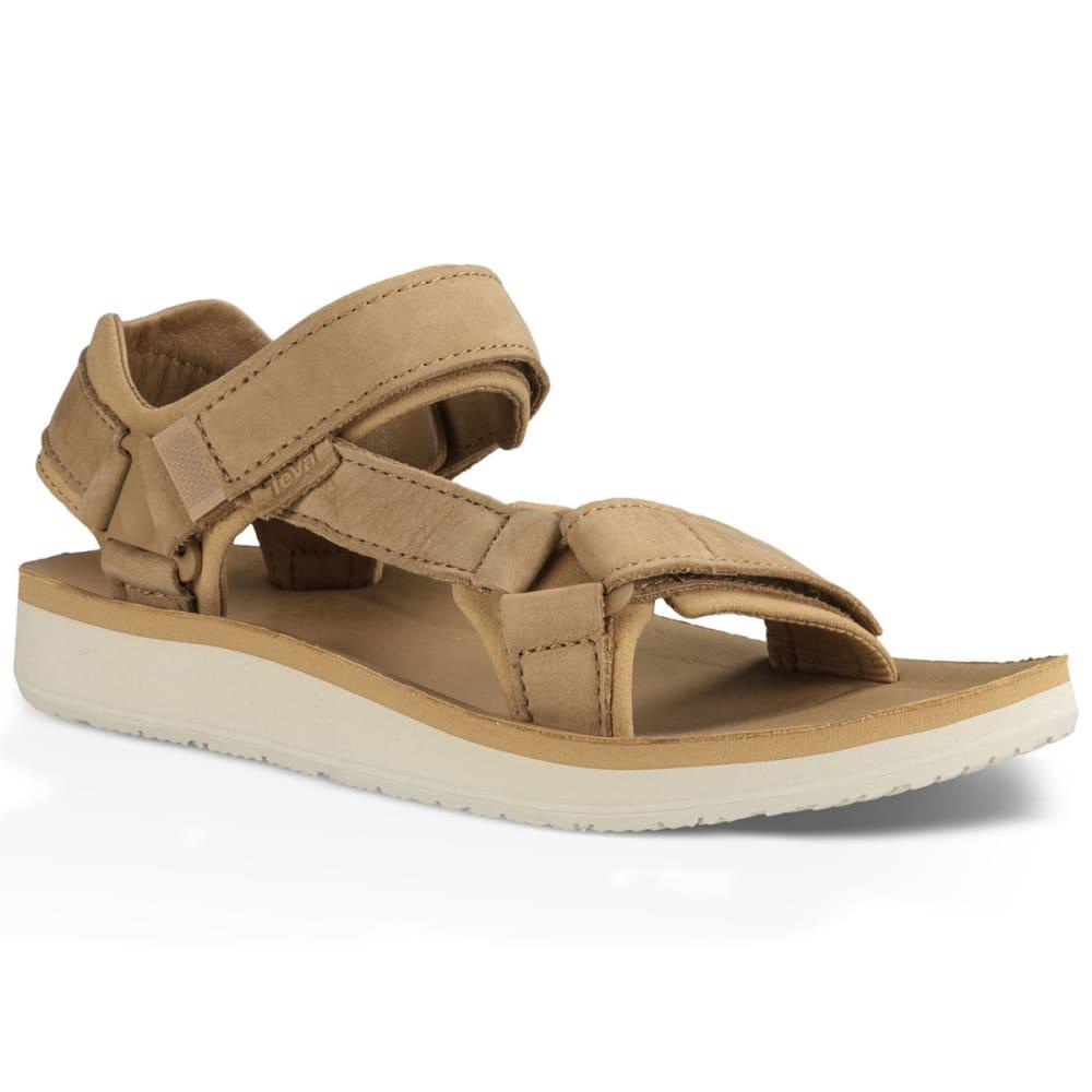 Teva Women's Original Universal Premier Leather Sandals, Tan - Brown