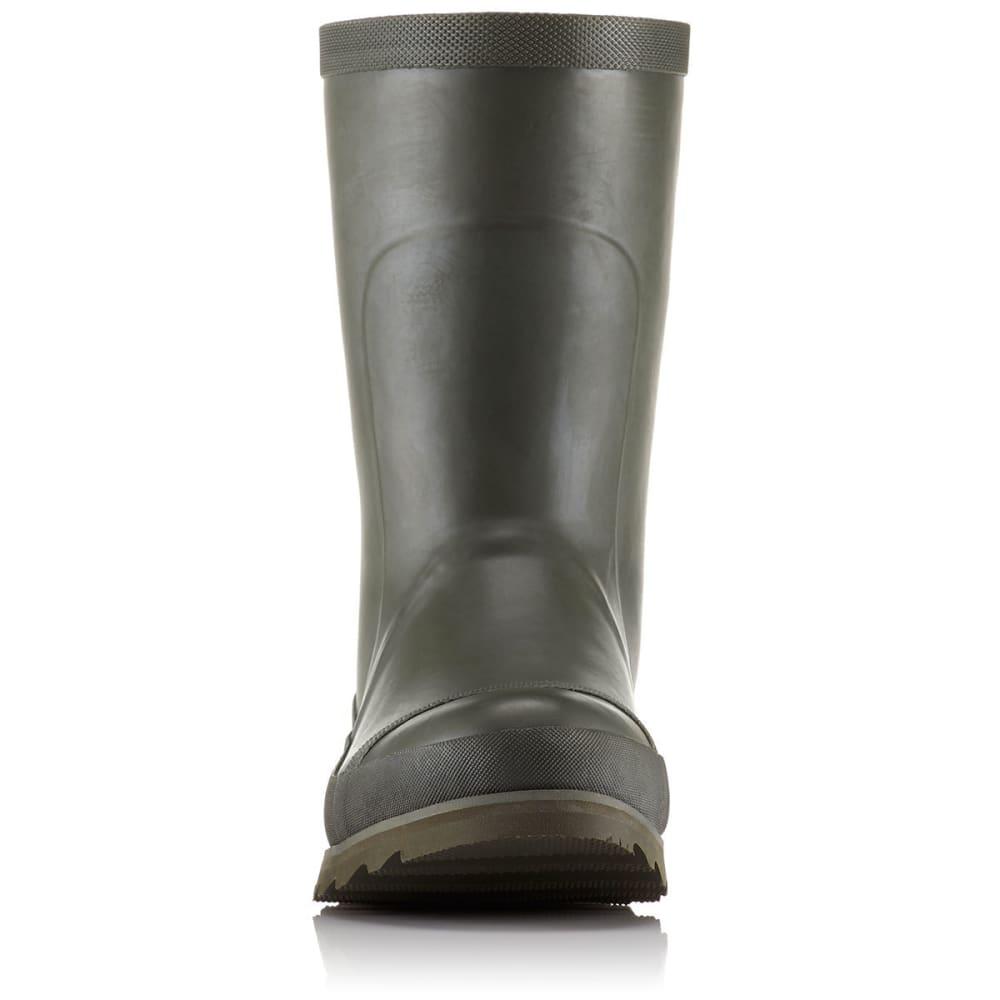 SOREL Women's Joan Rain Short Boots, Nori/Zest - NORI/ZEST